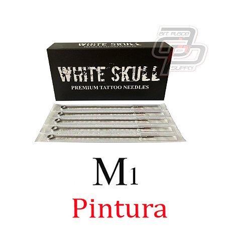 Agulhas White Skull Pintura / Magnum - Caixa com 50 unidades