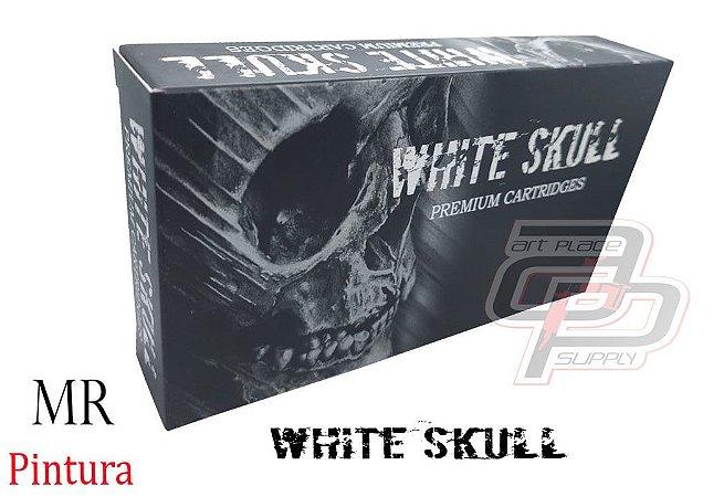Cartuchos White Skull Pintura / Magnum Round - Caixa com 20 Unidades