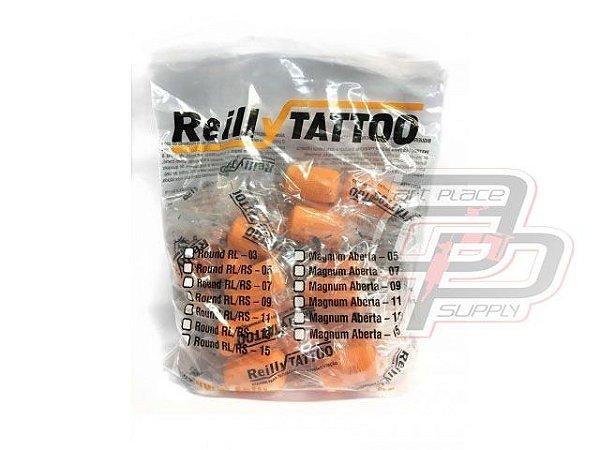 Bico Reilly Traço / Round Liner 30mm - Saco com 20 unidades