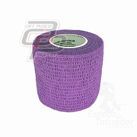 Bandagem Elástica (5cm X 4,5m) - Purple
