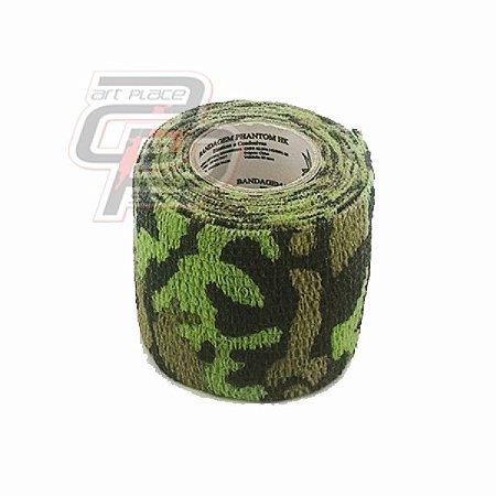 Bandagem Elástica (5cm X 4,5m) - Land Camo