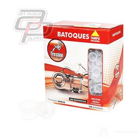 Batoques Soltos Tamanho M - 1 Caixa (contendo 500 unidades) - Trestini