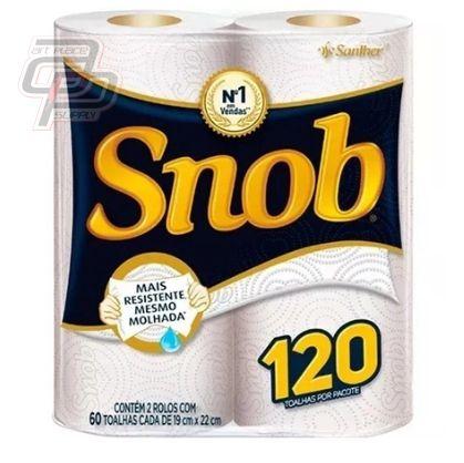 Papel Toalha  Pacote com 2 Rolos - SNOB