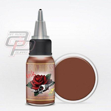 Pigmento Castanho Intermediário - 15ml - Iron Works