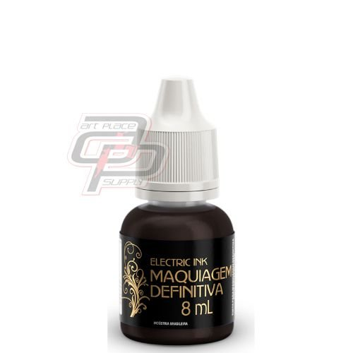 Pigmento Marrom Cacau - 8ml - Electric Ink