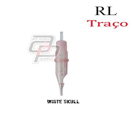 Cartuchos White Skull Micropigmentação Traço / Round Liner - 1 Unidade