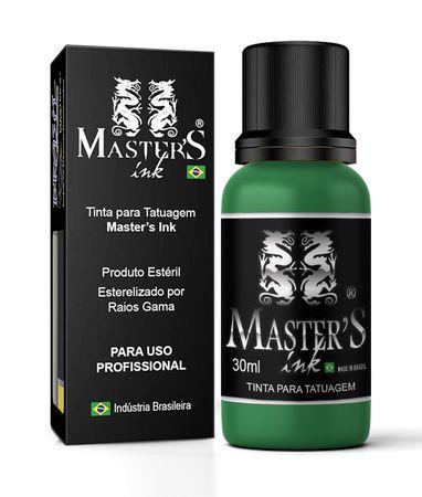 Tinta Verde Bandeira 30ml Master Ink