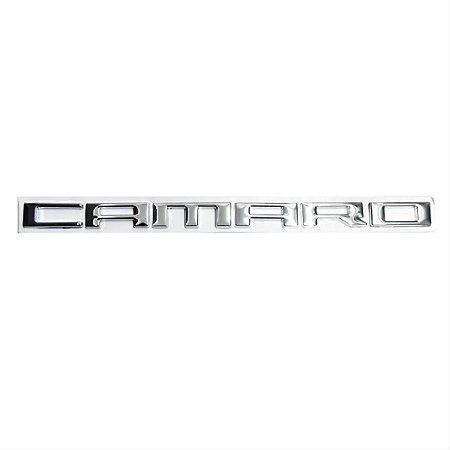 Emblema Gm Chevrolet Camaro SS 2010 a 2015 Paralama Lateral - Cromado