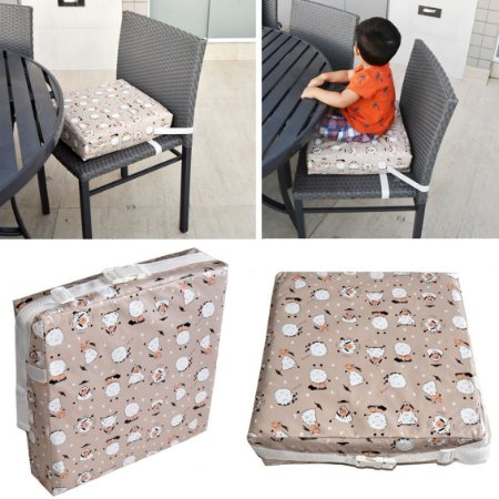 Assento Almofada de Elevação Infantil Criança - Estampa Carneirinhos