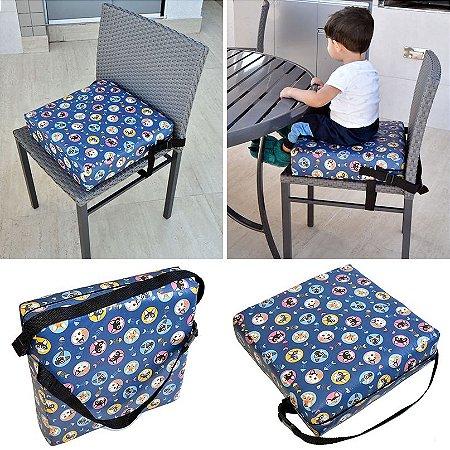 Assento Almofada de Elevação Infantil Criança - Estampa Gatinho