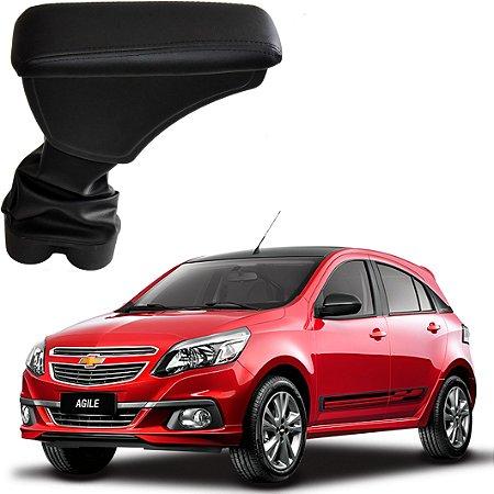 Apoio de Braço Encosto Console Central Chevrolet Agile 2009-2015 Artefactum Courvin