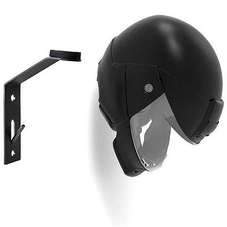 Suporte de Capacete Moto para Parede com Porta-Chaves E.V.A STERK