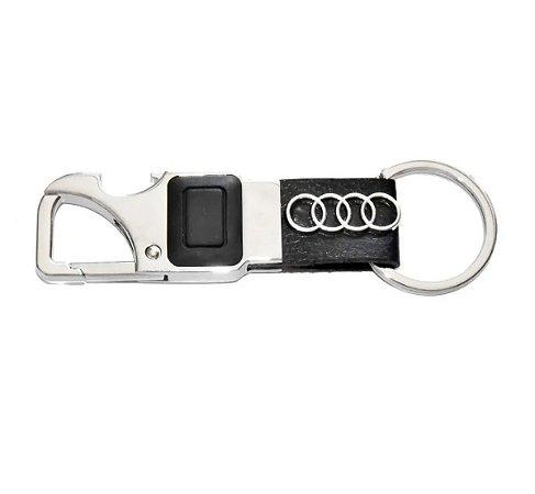 Chaveiro Automotivo Audi Lanterna Led com Abridor de Garrafa