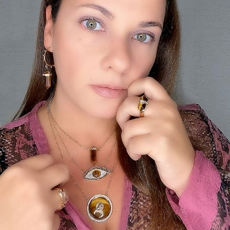 Conjunto Proteção e Prosperidade Olho de Tigre com 5 peças