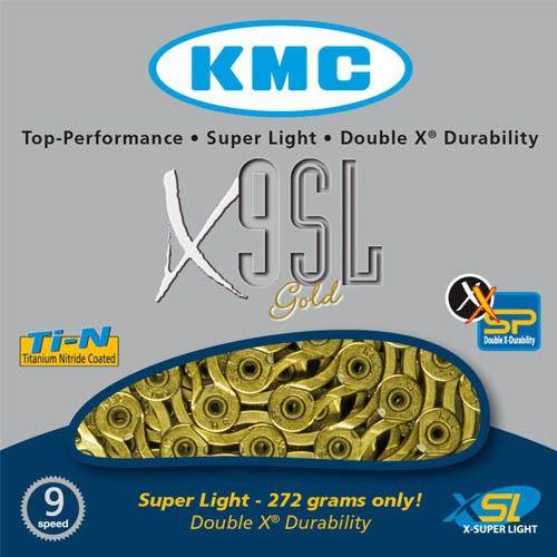 Corrente Kmc X-9SL Ti-n Gold 9v 116L