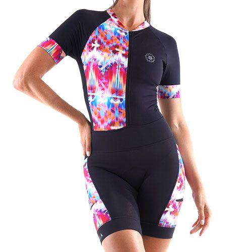 Macaquinho Ciclismo Feminino Victoria Proteção UV EMANA®