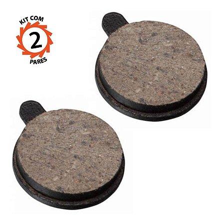 Pastilha Para Freio A Disco Zoom Ds-23 / Gts Kit 2 Pares
