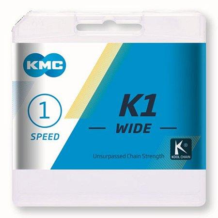 Corrente KMC K1 Wide Grossa Single Speed Original 112 Links