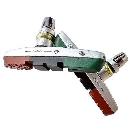 Sapata V-brake Padrão Shimano (deore/lx/xt/xtr)