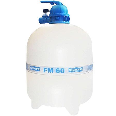 Filtro FM 60 - para piscinas até 113 mil litros