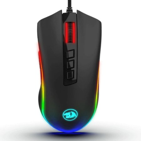 Mouse Gamer Cobra RGB PTO Redragon