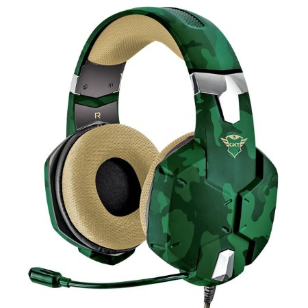 Headset Jungle Camo Carus Gaming Gxt 322C