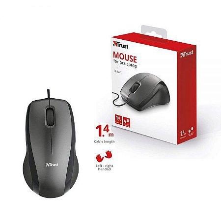 Mouse Trust Óptico 1200DPI 3 Botões - Carve