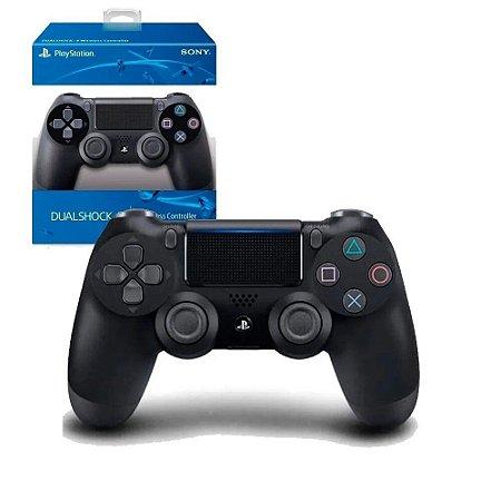 Ps4 Controle DualShock 4 Jet Black Original Sony
