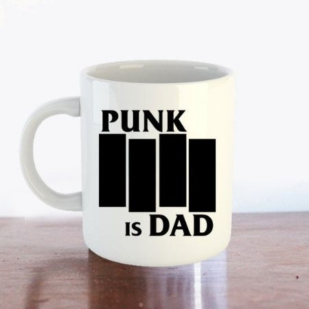 Caneca PUNK IS DAD