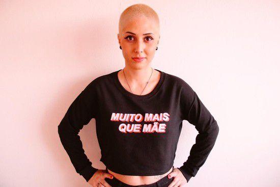 MOLETINHO CROPPED - MUITO MAIS QUE MÃES