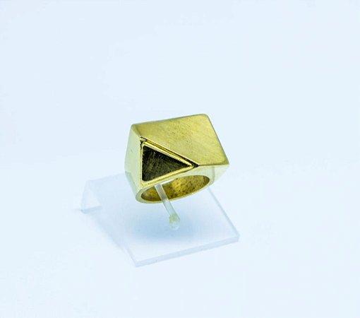 Anel Adventure - Prata 925 - (Banhado de Ouro-18k).