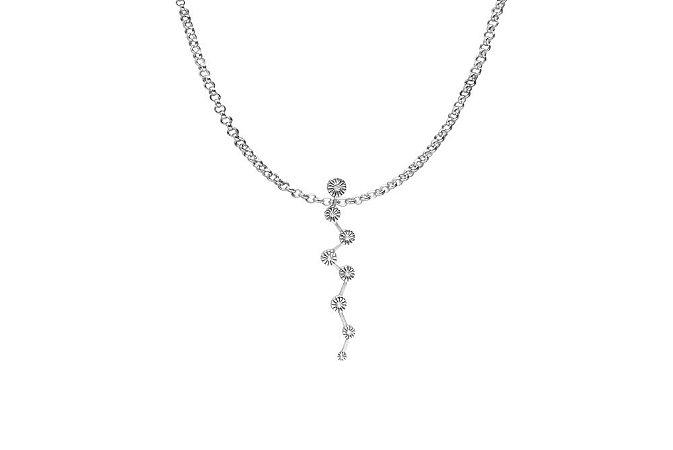 Colar Soft | Prata 925 com Zircônia.