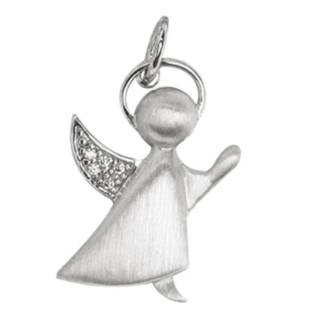 Pingente Angel / Zirconias  - Prata 925