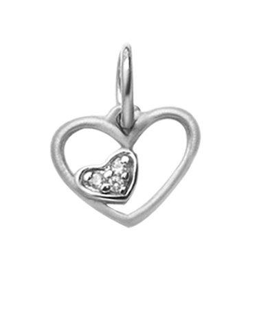 Pingente Mini Coração - Prata 925