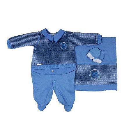 Saida Maternidade Mundo Colorido Polo RN (Azul Bebê)