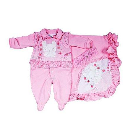 Saida Maternidade K-Baby RN (Ursinha Rosa)