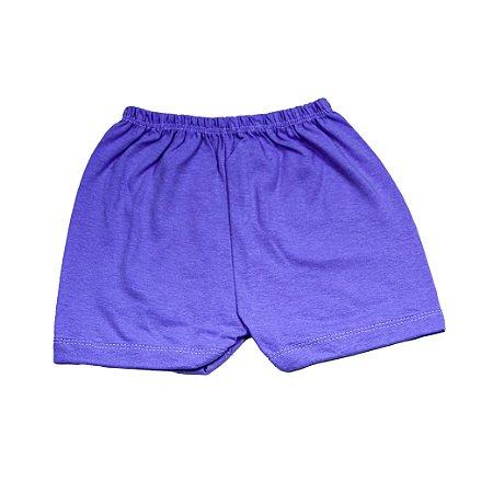 Short Liso Simples (Lilás)