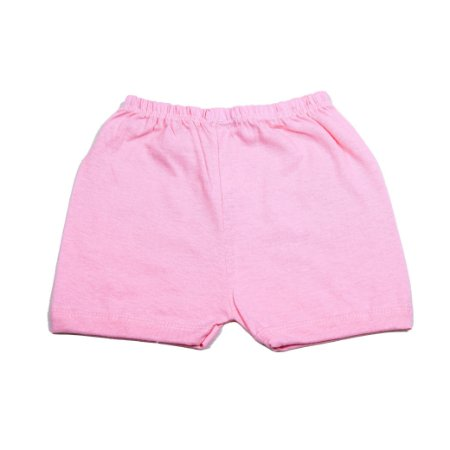 Short Liso Simples (Rosa Pink)