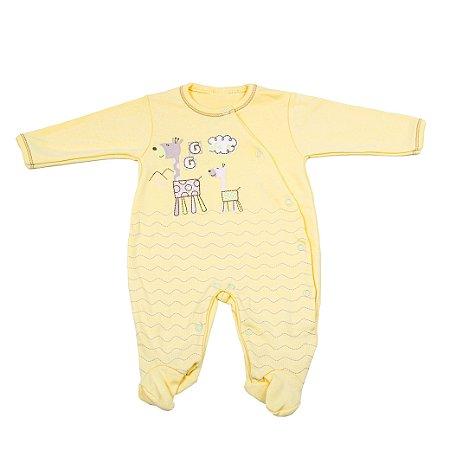 Macacão Nilly Baby (Girafas Amarelas)
