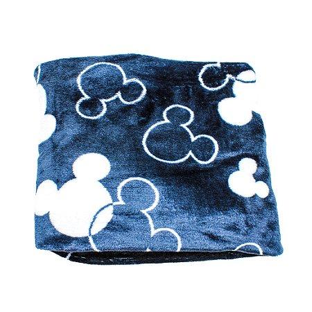 Cobertor Manta Plush (Mickey Black)