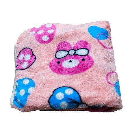 Cobertor Manta Plush (Laço)