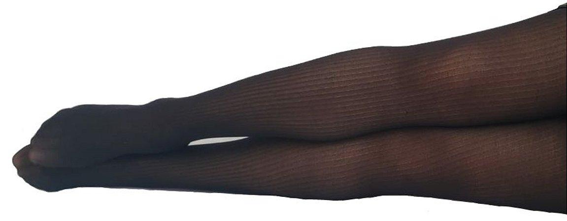 Meia-Calça STRIPES (fio 20 - listras) - Tamanho M