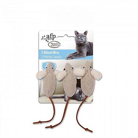 Brinquedo Afp Kit Ratinhos Para Gatos - Classic Comfort