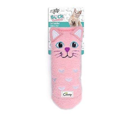 Brinquedo Afp Gatinha Pink Para Gatos - Sock Cuddler
