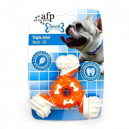 Brinquedo Mordedor Afp Com Cheiro de Frango Para Cachorro  - Dental Dog Chews