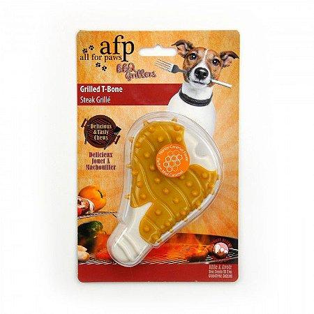 Brinquedo Mordedor Borracha Afp Filé Cheiro de Caramelo Para Cachorro – BBQ