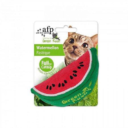 Brinquedo Afp Melancia Catnip Canadense Para Gatos - Green Rush