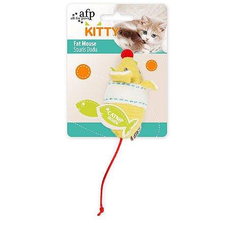 Brinquedo Afp Rato Mouse Para Gatos - Kitty