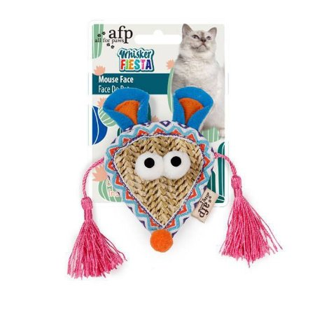 Brinquedo Afp Face Rato Para Gatos - Whisker Fiesta