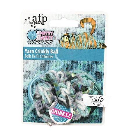 Brinquedo Afp Fuxico Pom Pom De Lã Para Gatos - Knotty Habit